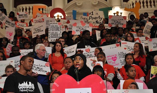 Philadelphia's School District, dissolving in silence